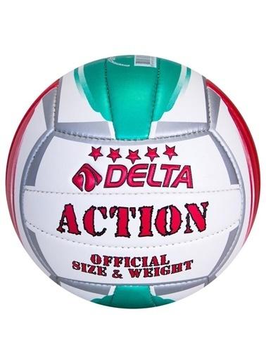 Delta Delta Action El Dikişli 5 Numara Voleybol Topu Sarı